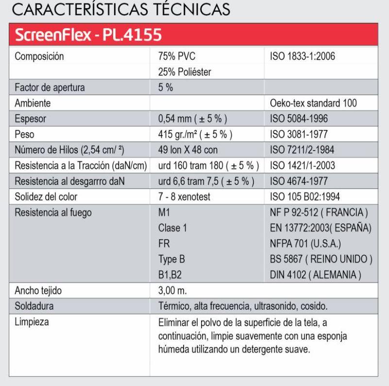 ficha tecnica pl.4155